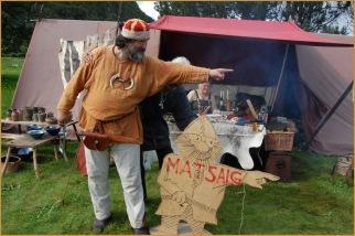 Vikingen hadde ikkje horn på hjelmen. Ein var en krigar og ikkje ei ku.