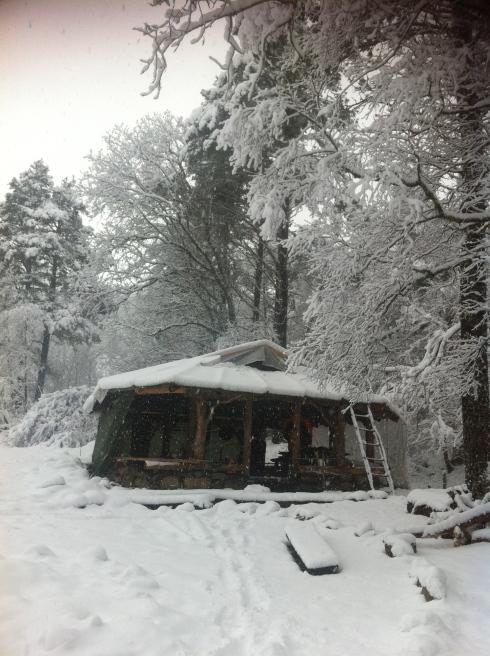 Vinter på Gjerå