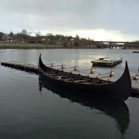 Sjøsetting av Bjarka 2015